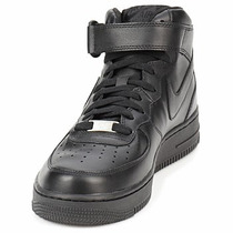 Tenis Nike Air Force One Bota 100% Originales Negro