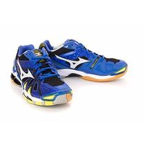 Tenis Mizuno Badminton Voleibol Wave Tornado 9 Suela Liga 27