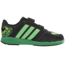 Tenis Marvel Avengers Hulk Velcro Para Niño Adidas B23893