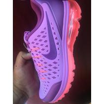 Tenis Dama Nike Air Max Supreme Morado 100% Original