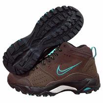 Nike Calzado Caminata Acg Salbolier Coffe & Blue Sky Hiking