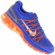 Tenis Nike Max Excellerate Azules Para Hombre Originales