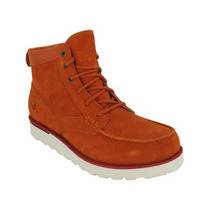 Nike Botas Caminata Air Acg Kingman Piel Orange Leather Gym