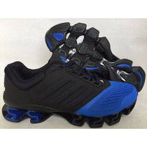 Tenis Adidas Mega Bounce Originales Black & Blue Cobalt Gym