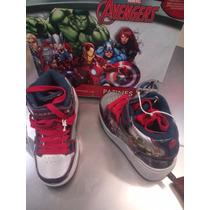 Rebaja Tenis Con Rueda Edición Limitada Avengers Marvel