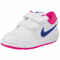 Tenis Nike Pico 4 (tdv) 454478-132 Blanco-marino Pv