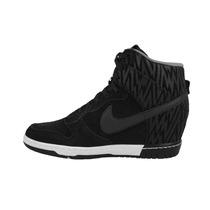 Tenis Nike Dunk Sky Hi Calzado 25.5 Negro