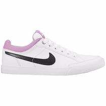 Tenis Nike Capri Iii 579619-108 Blanco-negro-rosa Pv