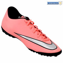Tenis Nike Mercurial Victory V Turf 6 Ala 9 Personalizables
