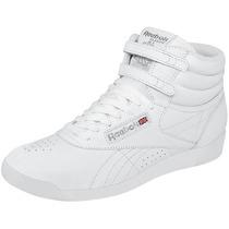 Tenis Dama Marca Reebok Clásicos Color Blanco R002431