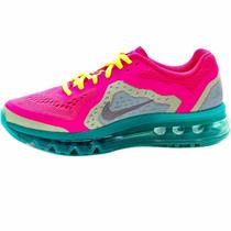 Mujer Nike Air Max 2014 Suela 360 Grade School Running Pink