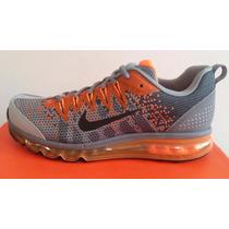 Tenis Nike Air Max Jacquard Running 2015, 8 Mx 100% Nuevo