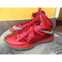 Tenis Nike Lebron X 10 Christmas + Envio Gratis Dhl