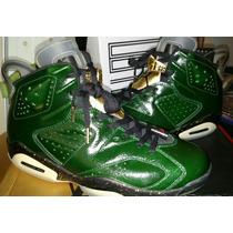 Unico Nike Air Jordan Retro 6 Champagne 9mx Nba Lebron Kobe