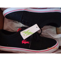 Tenis Lacoste Mujer 22.5 23