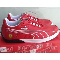 Puma Ferrari 3.0 Lo Sf Rojo-blanco Talla 26.5, 27 Y 28.5 Mex