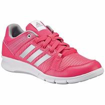 Tenis Adidas Entrenamiento Niraya B33399 Rosa Gris Oi