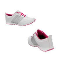 Tenis Casual Con Cuña Pink By Price Shoes 1519 Color Blanco