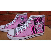 Tenis Converse Personalizados Monster High Outfit Iph