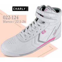 Tenis Charly Para Dama Color Blanco V
