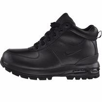 Botas Caminata Nike Air Max Acg Goaterra Piel Waterproof Gym