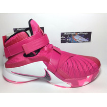 Lebron Soldier 9 Pink Edition (numero 8 Mex) Astroboyshop
