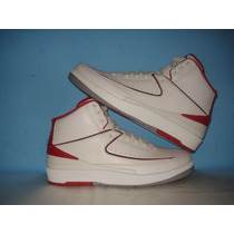Nba Air Jordan Retro Ii White Varsity Red 27.5mex 2014