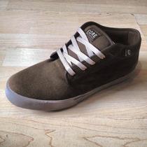Tenis Core Footwear Modelo Flatland Café Chocolate Chukka