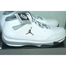Nike Jordan Iso Ii Blanco/plata Talla 28.5 Mex