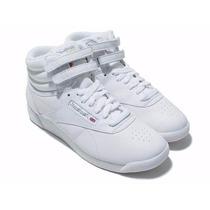 Tenis Casual Bota Reebok Freestyle Hi 2431 Piel