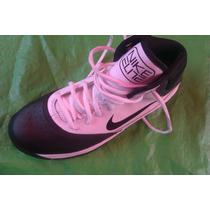 Tenis Nike 24 Cm Original Piel Bota Basquet Ball
