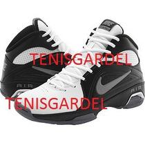 Tenis Nike Blancos Con Negro Air Visi Pro 3 Iii Num.8 Aire