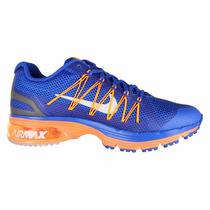 Tenis Nike Air Max Excellerate 3 Running Azul Naranja