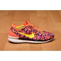 Tenis Nike Dama Free 5.0 Tr Fit 5 Print Nuevo Modeo