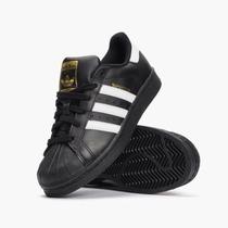 Adidas Súperstar 2 Negro / Bco Jr (original Con Etiquetas )