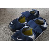 Tenis Nike Azul Talla 25 Mx Dedo Separado