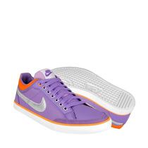 Nike Zapatos Dama Atleticos Y Urbanos 579619500 2-5 Lona Mor