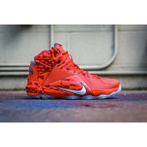 Nike Lebron 12 Xii Usa 4 Of July