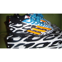 Tenis Adidas Turf Battle Pack F-5 Messi Brasil2014 *de Niño