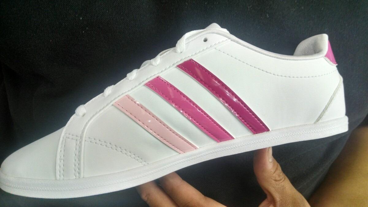 zapatillas adidas mujer blanco