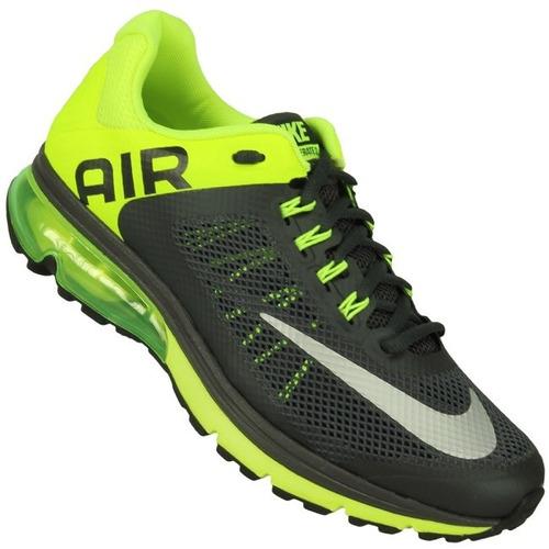 Nike Air Max Grises Y Verdes