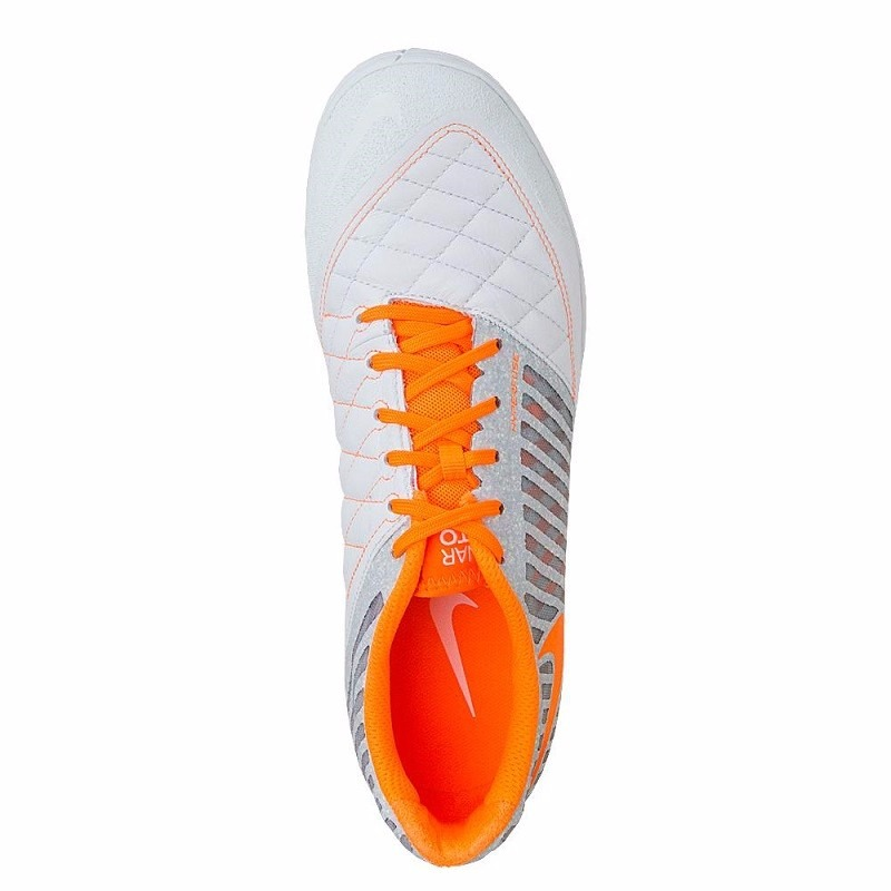 the best attitude 972fc ca3a2 ... Nike FC247 Lunar Gato II Indoor Soccer Shoes (Atomic Orange Total Orange   Gamma  venta nike lunar gato ...