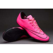 Tenis Nike Mercurial Rosa Liga Ic Nuevo Unico Par