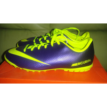 Tenis Futbol Nike Mercurial Victory Tf Iv Ronaldo *de Niño*