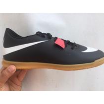 Tenis Nike Negro Con Blanco Económico Sala Liga Con Caja