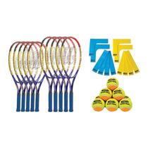 Genial Juego De Raquetas Y Pelotas De Tenis Para Niños
