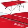 Mesa De Ping Pong Profesional Roja - Envio Gratis (r)