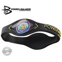 Power Balance (negro / Amarillo Letras) Tamaño: Xs Pulsera T