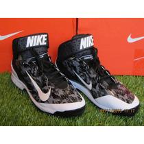 Spike Nike Air Huarache Camo Promid Metal Negro 8 Mx - 10 Us