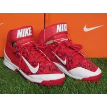 Spike Nike Air Huarache Camo Promid Metal Rojo 8 Mx - 10 Us